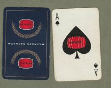 Advertising playing cards Watney's red Barrel beer circa 1930-40's.